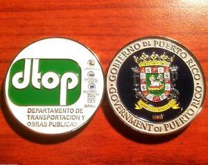 TRANSPORTACION OBRAS PUBLICAS Gobierno PUERTO RICO Public Works Department DPW