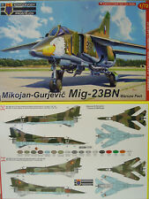 MiG-23 BN Warschauer Vertrag ,1:72, KP, Plastik , DDR, Bulgarien, CZ, Neuheit