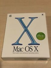 Mac OS X 10.1, NEW, full retail version on CD, w/ Mac OS 9.2.1 and iPhoto 1.0
