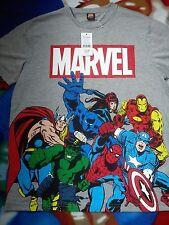 Bonito Nuevo Marvel Comics Hombres Camiseta Camiseta Tamaño M Mediano o niño 14/18 años