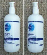 Oilatum Light Liquid Paraffin White Soft Cream Eczema Dry Skin 2 x 500ml Sealed