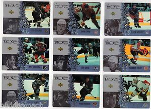 1997/98 McDONALDS ICE COMPLETE BASE SET OF 40 CARDS PLUS THE BASE CHECKLIST