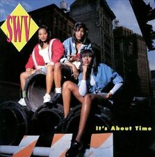 It's About Time by SWV (CD, Oct-1992, RCA) Sisters With Voices CD