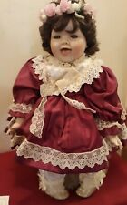 Vincent Di Filippo Hsn 1993 Annie Toddler Porcelain Doll Limited 1952/2500 ✞