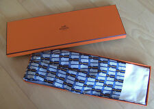 ORIGINAL HERMES PARIS SCHAL SEIDENTUCH HERREN + BOX !!