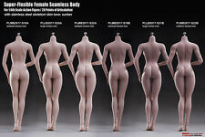 "Flexible Women Female Seamless Steel Skeleton Body 1/6 Scale TBLeague 12"" Figure"