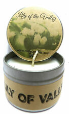 Wholesale LOT of 40 - Lily of The Valley Handmade 4oz Tin Soy Candles Scented
