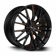 BARRACUDA PROJECT 3.0 Black gloss Flashorange Felge 8,5x20 - 20 Zoll 5x114,3 ...