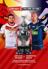 * 2018 RUGBY LEAGUE CHALLENGE CUP FINAL - CATALANS DRAGANS v WARRINGTON WOLVES *