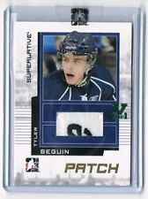 2009-10 ITG Superlative Game-Used Patch Gold Vault #SP-52 Tyler Seguin 1/1 !!