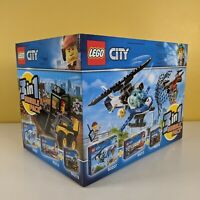 LEGO City 3 In 1 Triple Bundle Pack 66643 - Sky Police 60207 + 60213 + 60219 NEW