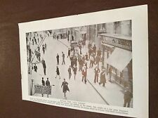 M12d ephemera ww2 1940s picture malta wembley store after all clear