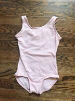 New Theatricals girls pink leotard size intermediate child