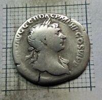 AD 98-117 Roman Empire Silver Denarius of Trajan NGC VF SKU57088