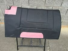 SYNTHETIC PAD HORSE WESTERN PLEASURE SADDLE PINK OSTRICH NAVAJO TRAIL SHOW TACK