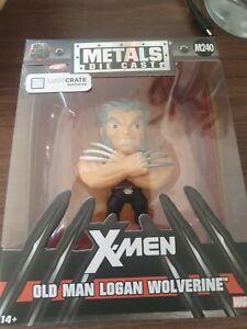 Lootcrate Metals X-Men Old Man Logan Wolverine Figure M240 Boxed Unopened