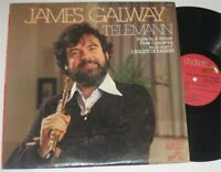 James Galway Telemann Vinyl LP Record Album