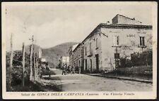 AX0359 Conca della Campania (CE) - Via Vittorio Veneto - Cartolina postale