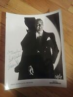 Autograph SIGNED Photo 1940s Big Band Leader Orchestra Freddy Martin