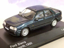 NICE WHITEBOX DIECAST 1/43 1990 FORD SIERRA COSWORTH IN METALLIC DARK GREY WB236