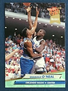 SHAQUILLE O'NEAL RC 1992-93 FLEER ULTRA 92-93 NO 328  44827