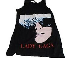 LADY GAGA 'THE FAME' LADIES VEST, OFFICIAL BAND MERCHANDISE, USA IMPORT, SIZE 6