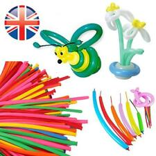 *UK Seller* 100X PREMIUM QUALITY 260Q Modelling Balloons Latex Assorted Colours