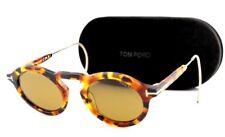 255e64604eb06 RARE Genuine NEW TOM FORD GRANT-02 Havana Brown Sunglasses TF 632 FT 0632  55E