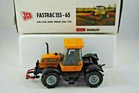 1:35 JOAL 195 JCB Famous 155-65 FASTRAC Detailed Farm Tractor MINT in JCB Box