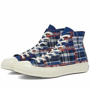 Converse CTAS 70 High Men's Shoes Rush Blue/Red 166849C