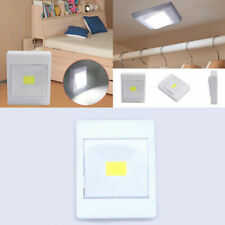 LED Battery Wall Switch Lamp Wireless Closet Bedside Waterproof Night Light 5W