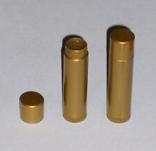 25 NEW Empty Gold Pearl LIP BALM Chapstick Tubes Containers - .15 oz / 5ml