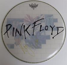 "Roger Waters PINK FLOYD Signed Autograph Custom ""The Wall"" 18"" Drum Head"