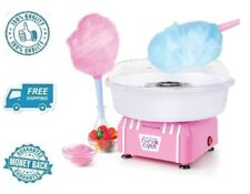 New Hard & Sugar Free Candy Cotton Candy Maker Machine Party Kit W Reusable Cone