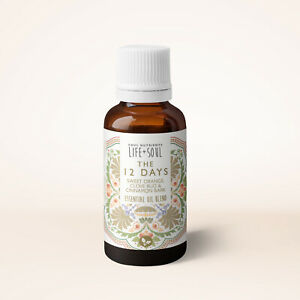The 12 Days Christmas Essential Oil Blend 10ml- The Perfect Scent For Your Home