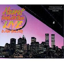 Live In New York City: In loving memory of Nusrat Fateh Ali Khan 1948-1997 CD