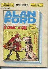Alan Ford n° 18-T.N.T Ventennale Ed M.B.P no adesivi