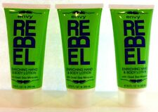 3 Envy Rebel Enriching Hand & Body Lotion With Dead Sea Minerals 6.76 Fl Oz ea