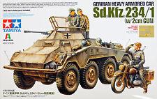 German Heavy Armored Car Sd.Kfz.234/1 (w/2cm GUN) 1/35 KIT DI MONTAGGIO (37019)