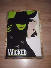 2003 Wicked Broadway Program/Idina Menzel/Signed By Jennifer Laura Thompson