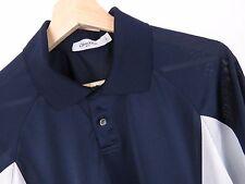 mv353 CALVIN KLEIN vintage chemise polo golf haut original Premium Taille L