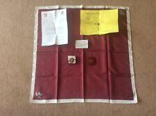 More details for order of st john investiture bundle job lot scarf enamel badge letter ephemera