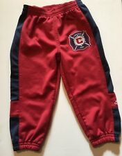 Adidas Pants Chicago Fire Red Toddler Boys Size 2T