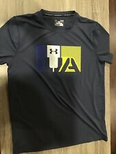 Under Armour men's heatgear Blue short sleeve t shirt-Large