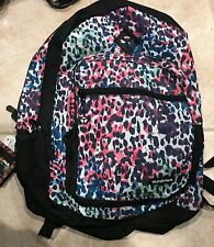 """Yak Pak Girl's Backpack 18"""" New with Tags Pink Green Purple"""