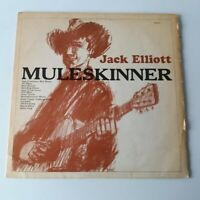 Ramblin Jack Elliott - Muleskinner - Vinyl LP UK 1st Press Mono Topic