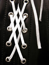 Corset Lacing, Corsetry Cord White, 5mm Width