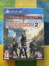 Tom Clancy The Division 2 PS4 - Washington D.C. Edition - Brand New & Unopened