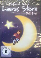 Lauras Stern Teil 1+2+3+4+5+6 Die komplette TV-Serie * NEU OVP * DVD