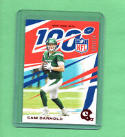 2019 Panini Chronicles Sam Darnold NFL 100 New York Jets RED parallel #'d /199